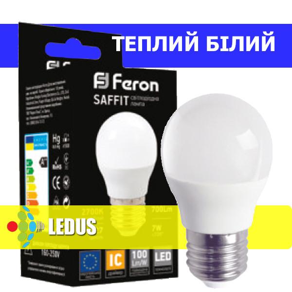 SAFFIT LED лампа LB-195 G45 230V 7W  700Lm  E27 2700K