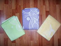 Одеяло байковое детское 110х140 см. Цвета в ассортименте, фото 1