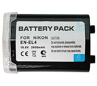 Аккумулятор для фотоаппарата Nikon EN-EL4, 2600 mAh.