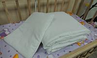 Одеяло с подушкой для детской кроватки