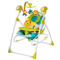Кресло-качели 2 в 1 Bambi M 1540-4 Green (M 1540-1)