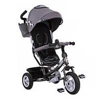 Велосипед детский трехколесный Turbo Trike M 3452-1FA Grey (M 3452)