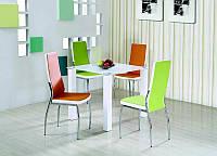Стеклянный обеденный стол  Merlot kwadrat 80*80 (Halmar)