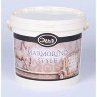Натуральное известковое декоративное покрытие (венецианская штукатурка) Эльф-Декор MARMORINO STYLE 15кг