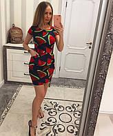 Красочное летнее платье