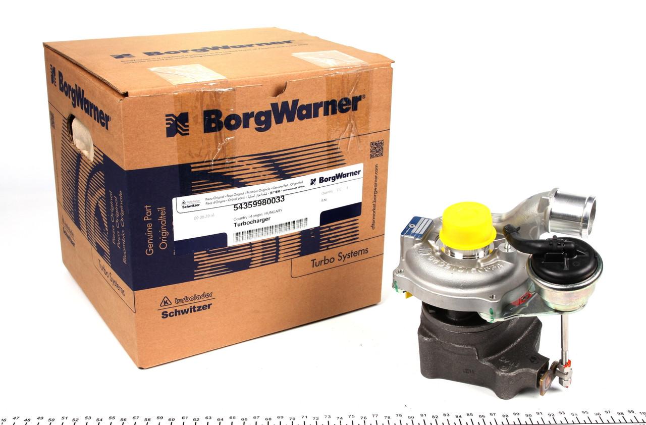 Турбина Renault kango  / Кенго / Микра / Клио 3 1.5 dCi  Borg Warner США  54359980033