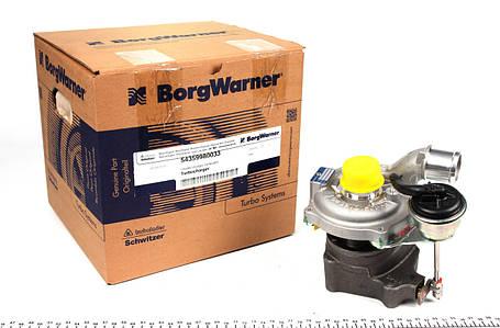 Турбина Renault kango  / Кенго / Микра / Клио 3 1.5 dCi  Borg Warner США  54359980033 , фото 2