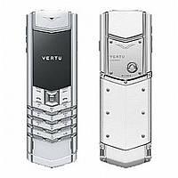 Vertu Signature S white 2SIM. Доставка 2 дня
