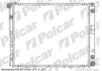 Радиатор охлаждения на MERCEDES W124/E-KLASSE(SDN/купе/CABRIO/комби) 12.84 - 06.96