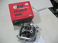 Головка цилиндра комплект GY6-80 куб, со стандартным клапаном