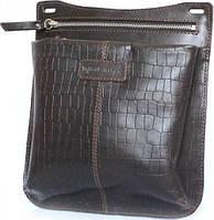c3bb5001b6a8 Кожаная сумка-мессенджер Mykhail Ikhtyar, Ikhtyar-6745 темно-коричневый