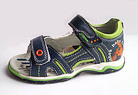 Босоножки, сандалии кожаные для мальчика р.25-30 ТM Clibee (Польша)