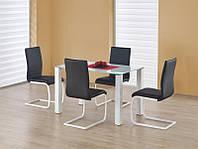 Стеклянный обеденный стол Merlot prostokat (Halmar)
