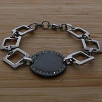 Элегантный браслет из стали