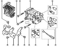 Тнвд / компоненты (топливный насос высокого давления)