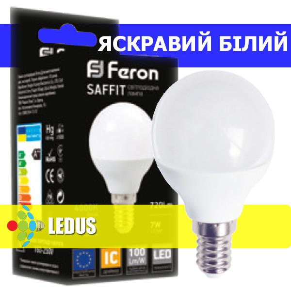 SAFFIT LED лампа LB-195 P45 230V 7W 720Lm E14 4000K
