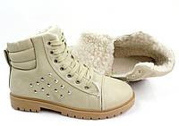 Женские зимние ботинки 9807