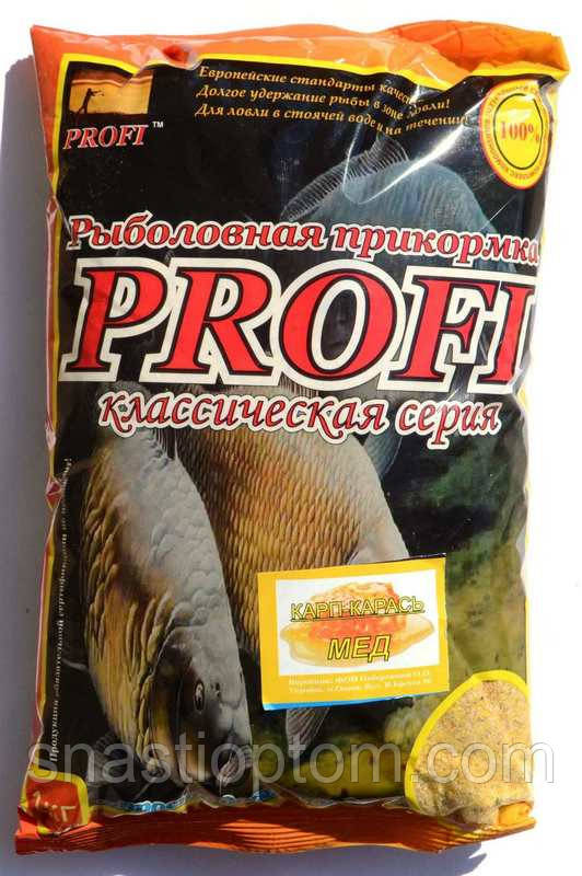Прикормка PROFI Короп-Карась, Мед, 1кг