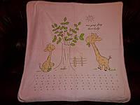 """Одеяло для новорожденного """"Love Baby"""" в коляску, кроватку 105х105 см. Персик"""