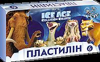 """Пластилин """"Ледниковый период"""" 6 цветов"""