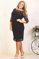 Платье Прима большого размера 48-94 батал