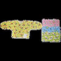 Распашонка на запахе для новорожденных 18 размер