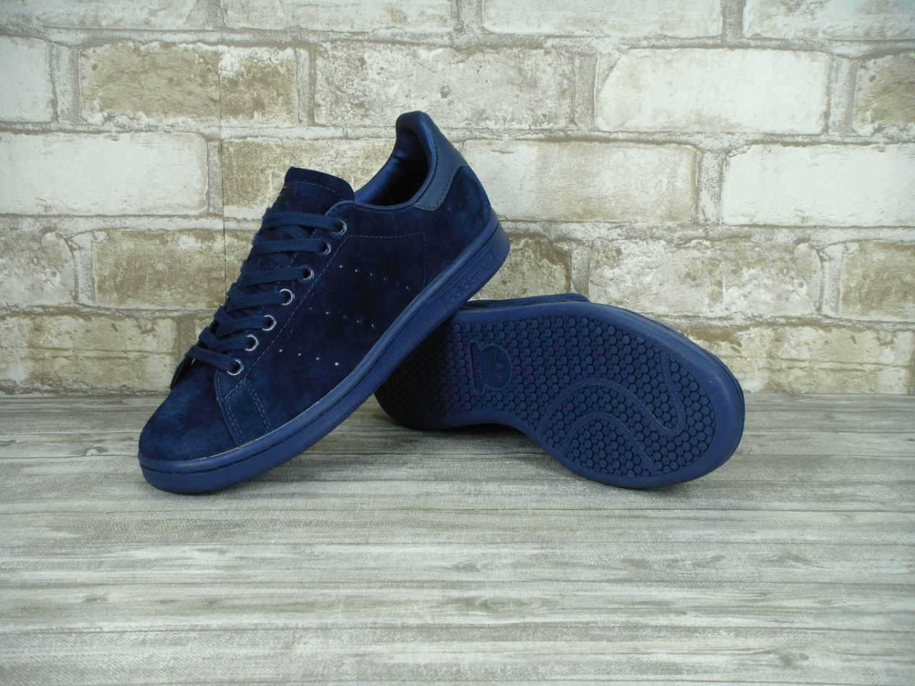 Кроссовки мужские Adidas Stan Smith 30113 темно-синие