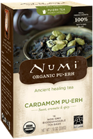 """Органический чай """" Пуэр с кардамоном"""" Numi"""