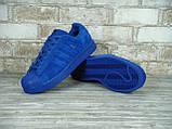 Кроссовки мужские Adidas Superstar Paris 30125 синие, фото 4
