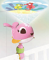 Ночник-проектор Tiny Love Suzi Take-Along, розовый