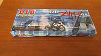 Мото цепь  520 DID 520ZVM-X 114 Стальная для мотоцикла ( в к-те замок ZJ) сальник X 2 -Ring