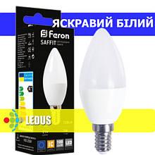 SAFFIT LED лампа LB-197 C37 230V 7W 720Lm E14 4000K