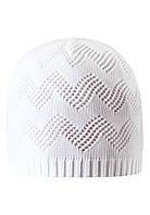 Демисезонная шапка для девочки Reima 528528-0100. Размеры 50 -  56.