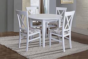 Стол круглый нераскладной Остин Микс мебель, цвет  белый, фото 3