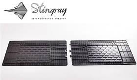 Коврики в салон резиновые универсальные Uni Twin (2шт) Stingray 1023082