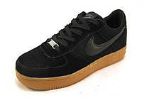 Кроссовки  Nike Air Force черные унисекс(найк аир форсы) (р.39,40,41)