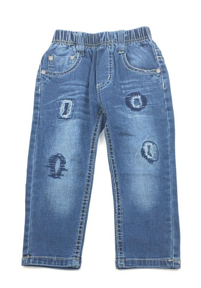 Удобные джинсы для мальчика на резинке Grace (р.74)