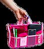 Органайзер для сумки ORGANIZE украинский аналог Bag in Bag (розовый), фото 3