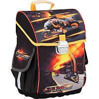 Школьный каркасный рюкзак kite k17-503s-1 speed racing для младшей школы