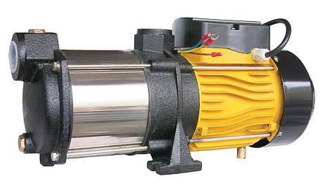Насос центробежный многоступенчатый Optima MH1300INOX 1,3кВт нерж. колеса, фото 2