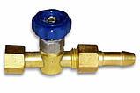 Вентиль кислорода (К) М14х1,5 Ф6 мм, фото 2