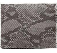 Кошелек мужской из кожи питона (PT 60 Grey Matte), фото 1