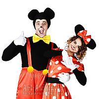 Аниматоры Микки и Минни Маус на детский праздник!