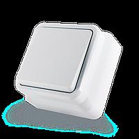 Переключатель одноклавишный (проходной)  ERSTE COUNTRY 8005-31 белый