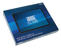SSD 120Gb, Goodram CL100, SATA3, 2.5', TLC, 550/500 MB/s (SSDPR-CL100-120)