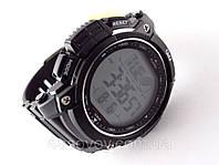 Часы  водостойкие Q@Q  Outdoor Black 10Bar спортивные, можно плавать, противоударные