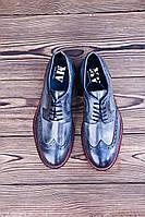 Мужские туфли броги MV , 27.5 см, 42 размер. Код: 417.