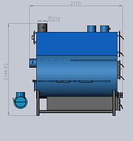 Теплогенератор пиролизный LissArt VTTG-100