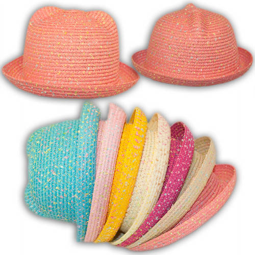 Шляпа соломенная с ушками, 23547
