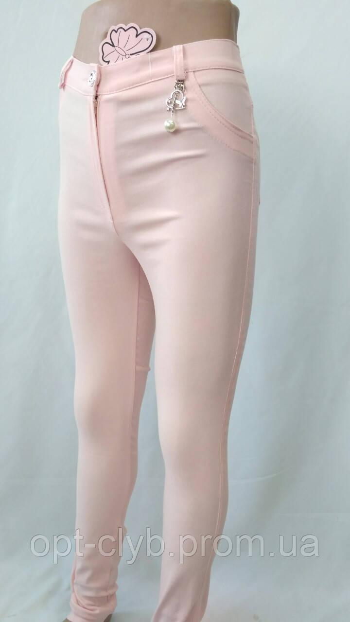 """Брюки подростковые """" Лето""""  цвет светло-розовый для девочек от 6 до 12 лет - Магазин одежды """"ОПТклуб"""" в Хмельницком"""